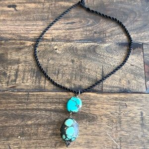 Genuine Turquoise Stone Necklace